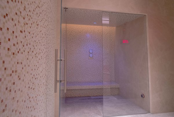 Steam Room Design View Of The Matteo Thun Steam Room With